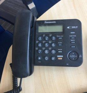 Стационарный телефон Panasonic (офисный)