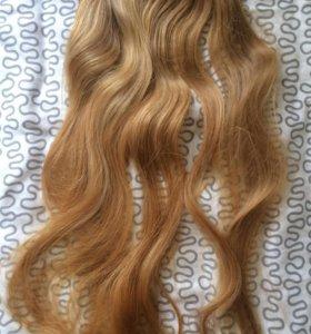 Волосы натуральные, цена указана за все волосы