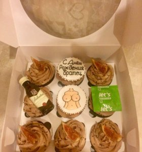 Капкейки ,торты