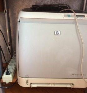 Лазерный принтер HP Color LaserJet 2600n