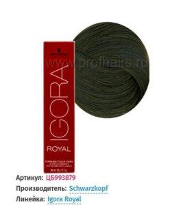 Краска IGORA ROYAL 6.63 темно-русый шоколадный мат
