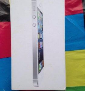 Коробка iPhone 5 16gb