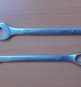 Ключ гаечный комбинированный 24мм.