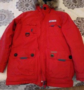 Куртка зимняя для машьчика 14 лет