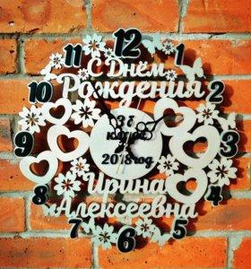Часы ручной работы