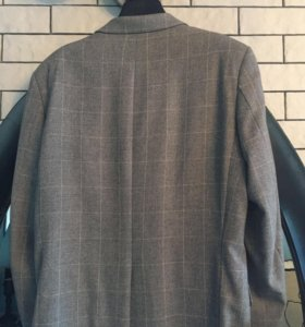 Пиджак-пальто Lagerfeld серый
