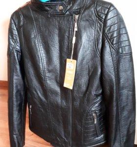 Куртка кожаная(Новая)