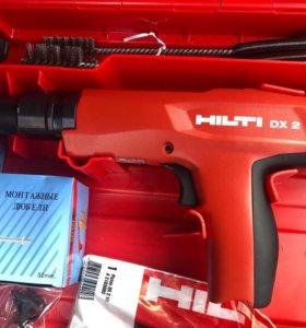 Продаётся новый монтажный пистолет HILTI DX 2