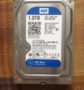 WD Blue 5400rpm 1TB