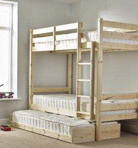Детская двухъярусная кровать «Марсель»