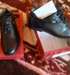 Туфли для школы новые.натур.кожа
