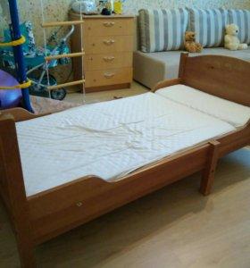 Кровать IKEA лексвик раздвижная