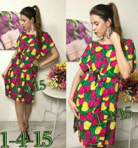 Туника-платье 44-54