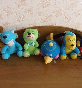 Мягкие игрушки по 50 рублей