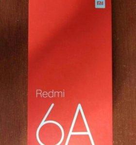 Новый Xiaomi Redmi 6A черный