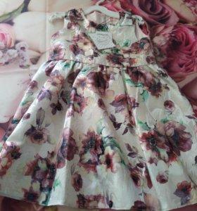 Новое платье для девочки рост 104