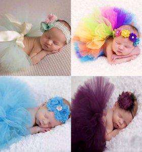 Костюм для новорожденной девочки
