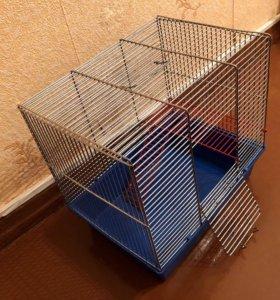 Клетка для грызунов (среднего размера)