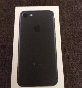 Iphone 7 mate black 32 gb новый