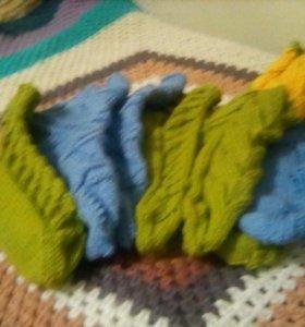 Шерстянные носки
