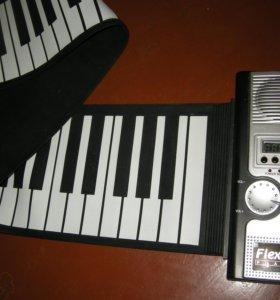 Гибкая клавиатура.