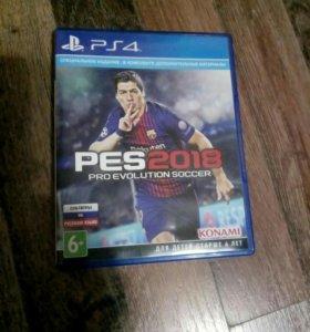 PES 2018 на PS4