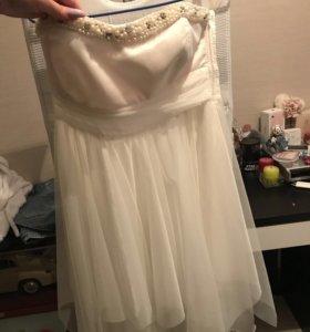 Платье вечернее подойдёт и как Свадебное
