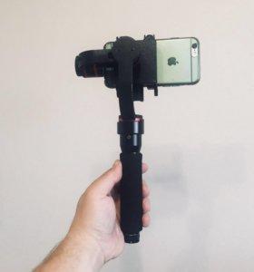 3-х осевой электронный стабилизатор для смартфона