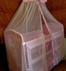 Продам кровать-манеж