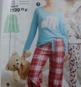 Женские пижамы р 48-50 и 52-54.