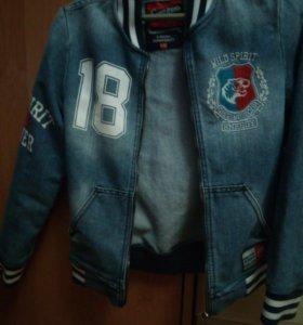 Куртка джинс на мальчика