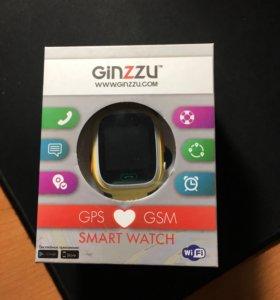 Новые детские смарт-часы GINZZU