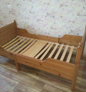 Раздвижная кровать Икеа