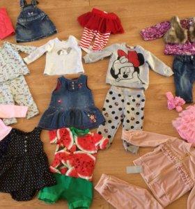 Одежда для девочки от 6 до 12 месяцев