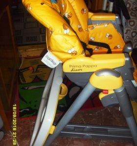 Фирменный стул кормления peg perego diner
