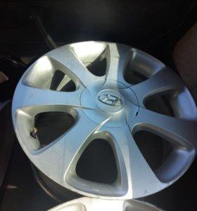 Диски на Hyundai Elantra 1.8