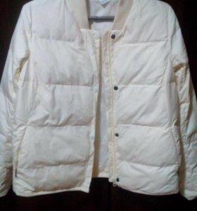 Новая куртка бомбер REEBOK