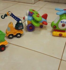 Детские игрушки-конструкторы