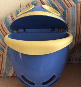 Контейнер для игрушек в ванной