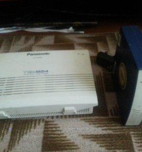 Panasonic KX-TEM824 RU + IP шлюз 8 линий