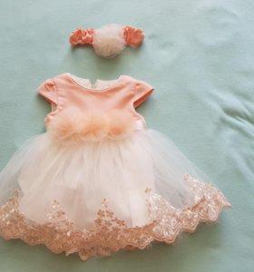Новое платье производство Турция.
