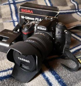 Nikon D7000 +Sigma 18-125