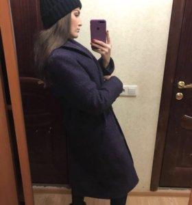 Пальто 44 46 шерсть
