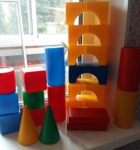 Набор кубиков и форм, 20 деталей