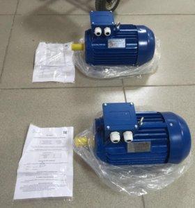 Новый Электродвигатель на 4 кВт , 1435 об.мин