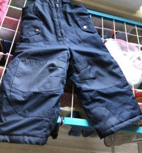 Зимние брюки Gusti (полукомбинезон)