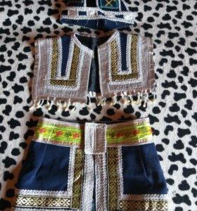 Яэкутский нац. костюм мальчиковый на 8-12 лет