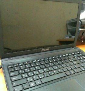 Ноутбук Asus x55a разбор