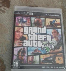 Игры GTA V и HEAVY RAIN на Sony Playstation 3
