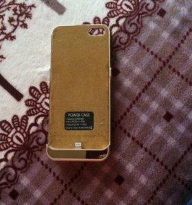 Аккумулятор зарядник на айфон 5s